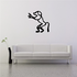 Egyptian Hieroglyphics Standing Monkey Decal