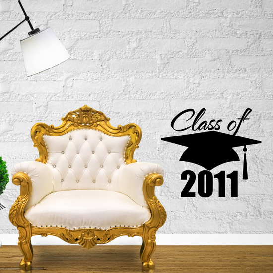 Class of Any Year Cap and Tassel Decal