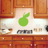 Green Apple Decal