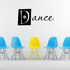 Dance Sports hobbies Outdoor Vinyl Wall Decal Sticker Mural Quotes Words HB011