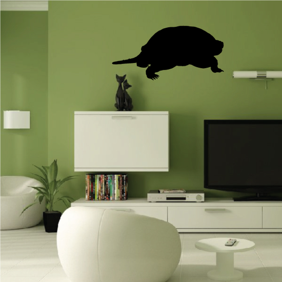 Snapping Turtle Watching Decal