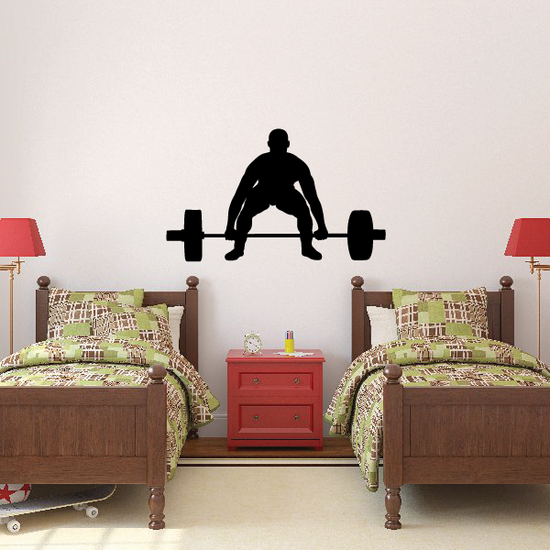 Deadlift Bodybuilder Decal