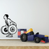 Weight Lifting Wall Decal