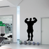 Weightlifting Wall Decal - Vinyl Decal - Car Decal - 004
