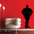 Weightlifting Wall Decal - Vinyl Decal - Car Decal - 010