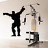 Weightlifting Wall Decal - Vinyl Decal - Car Decal - 015