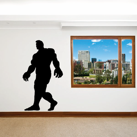 Weightlifting Wall Decal - Vinyl Decal - Car Decal - 020
