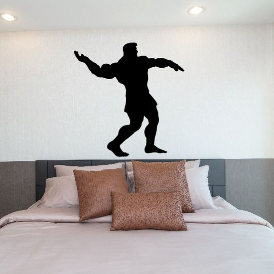 Weightlifting Wall Decal - Vinyl Decal - Car Decal - 032
