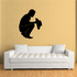 Bowing Cowboy Praying Decal