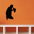 Cowboy Grabbing Leg Praying Decal