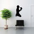 Cowboy holding Hat praying Decal