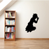 Teenage Girl Praying Decal