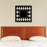 Checker Monogram Decal