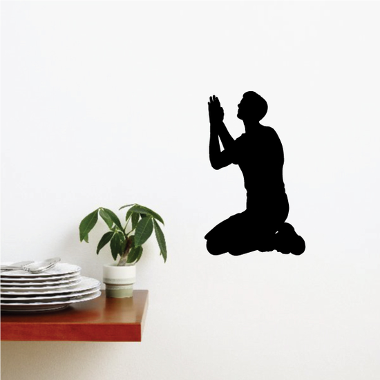 Praying Brother Decal
