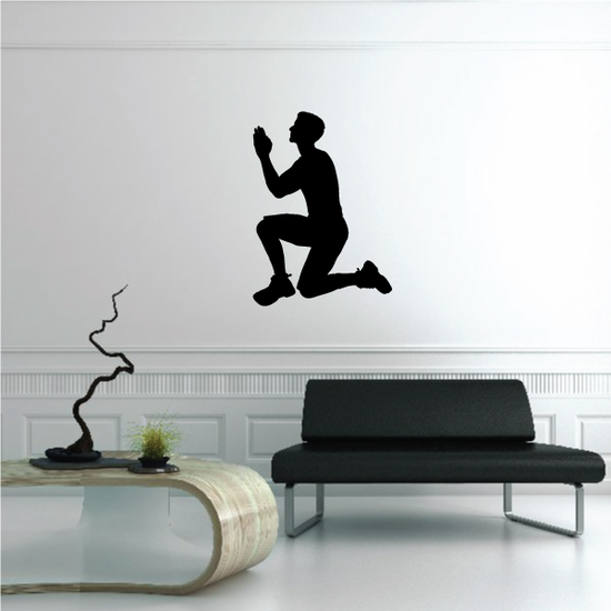 Praying Father for Children Decal