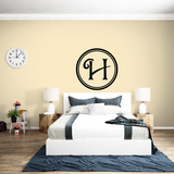 Outlined Circle Monogram Decal