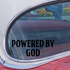 Powered By God Decal