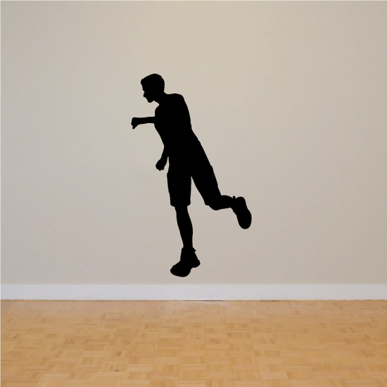 Jogging Male Runner Decal