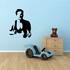 Male Runner Upper Body Decal