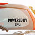 Powered By LPG Decal