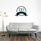 Rope Monogram Sticker