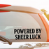 Powered By Sheer Luck Decal