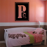 Paisley Monogram Decal