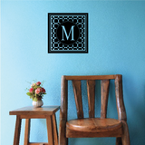 Dots Monogram Decal