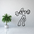 Weight Lifting Wall Decal - Vinyl Decal - Car Decal - CDS001