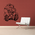 Weight Lifting Wall Decal - Vinyl Decal - Car Decal - CDS009