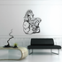 Weight Lifting Wall Decal - Vinyl Decal - Car Decal - CDS010