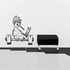 Weight Lifting Wall Decal - Vinyl Decal - Car Decal - CDS011