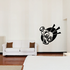 Weight Lifting Wall Decal - Vinyl Decal - Car Decal - CDS012