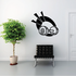 Weight Lifting Wall Decal - Vinyl Decal - Car Decal - CDS015