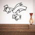 Weight Lifting Wall Decal - Vinyl Decal - Car Decal - CDS023