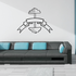 Weight Lifting Wall Decal - Vinyl Decal - Car Decal - CDS024