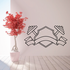 Weight Lifting Wall Decal - Vinyl Decal - Car Decal - CDS027