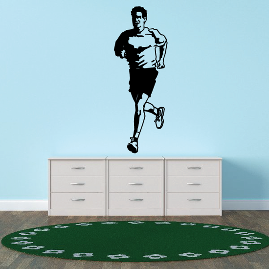 Running Wall Decal - Vinyl Decal - Car Decal - Bl005