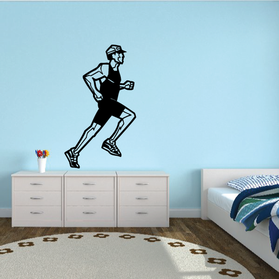 Running Wall Decal - Vinyl Decal - Car Decal - Bl007