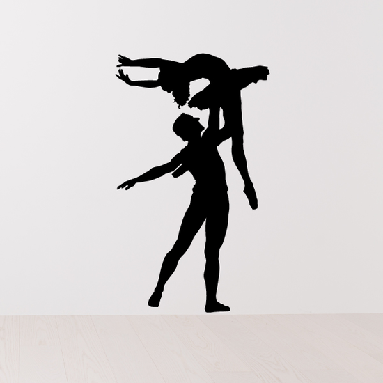 Couples Ballet Decals