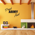 Proud Army Aunt Block Decal