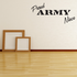 Proud Army Niece Decal
