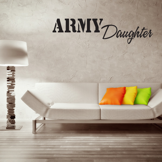 Army Daughter Decal