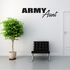 Army Aunt Block Decal