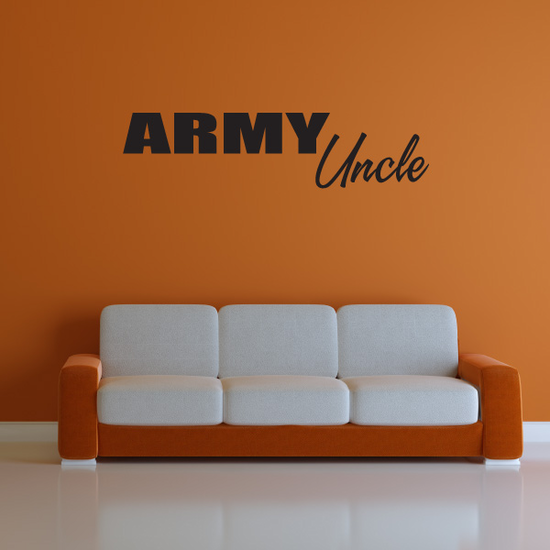 Army Unlce Block Decal