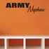 Army Nephew Block Decal