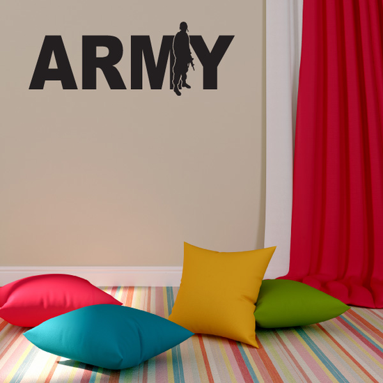 Army Soldier Decal