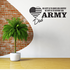 His Duty Army Dad Decal