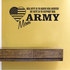 Her Duty Army Mom Decal