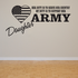 Her Duty Army Daughter Decal
